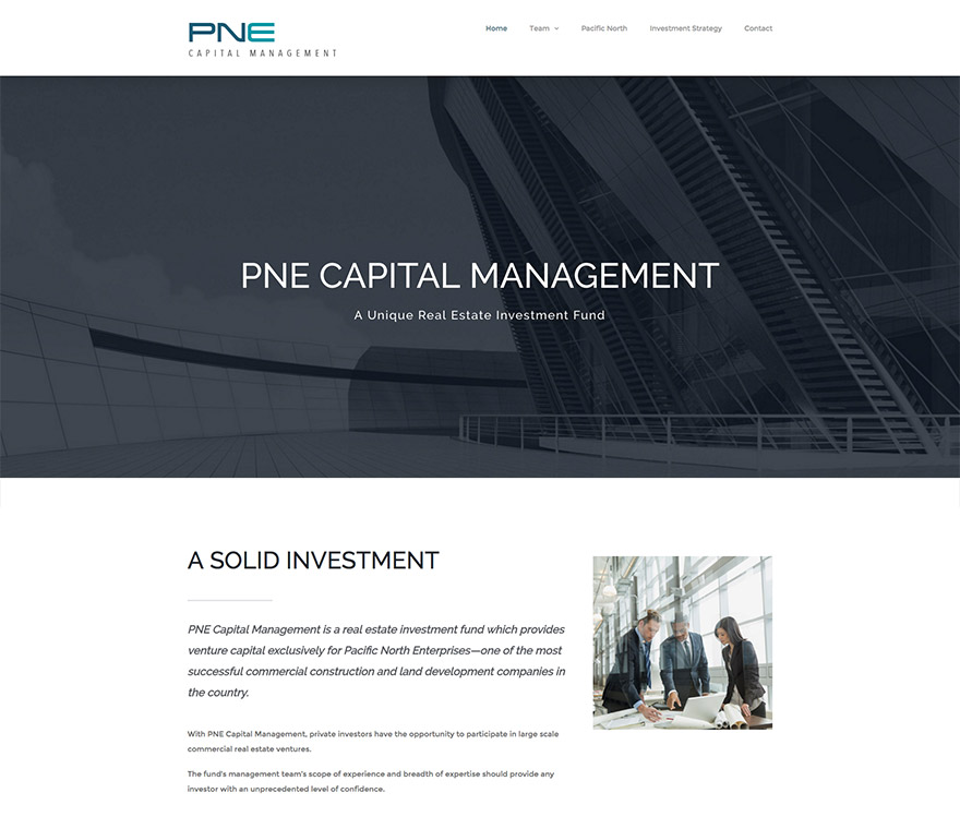 PNE Capital Website