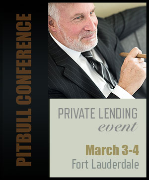 Pitbull Conference Private Lending Event March 2019